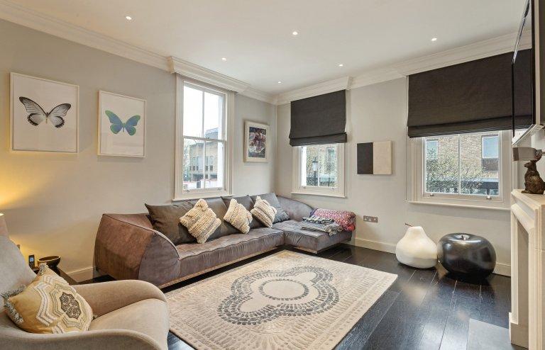 Geräumige 4-Zimmer-Wohnung zum Mieten in Chelsea, London