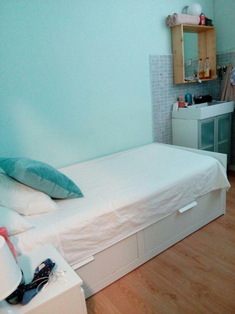 Quarto para alugar em residência de estudantes em Argüelles, Madrid