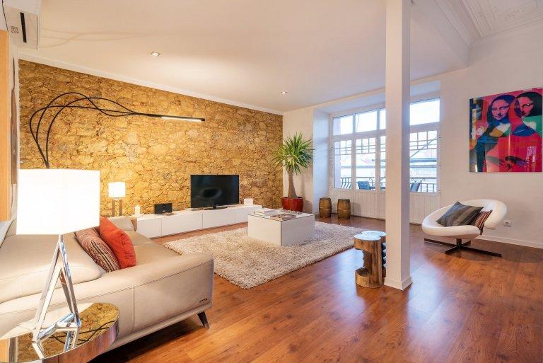 Elegante appartamento con 3 camere da letto in affitto ad Arroios, Lisbona