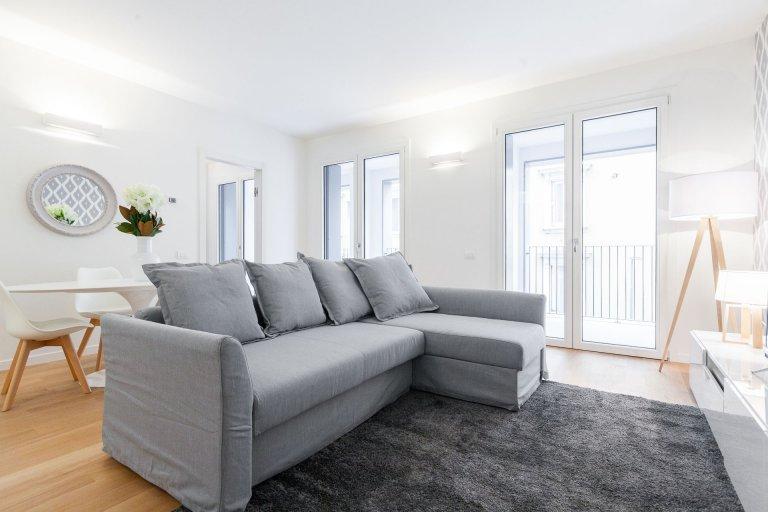Super appartamento con 2 camere da letto in affitto a Centrale, Milano