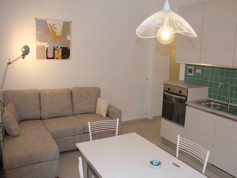 Einfache 2-Zimmer-Wohnung zur Miete in Testaccio, Rom