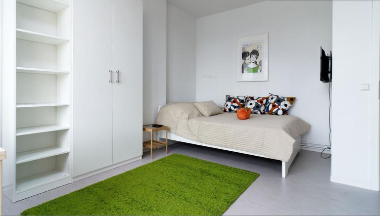 Luminoso apartamento de 1 dormitorio en alquiler en Reinickendorf, Berlín