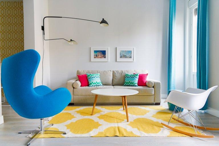 Bom apartamento de estúdio para alugar em La Latina, Madrid