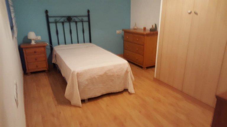 València'da ortak dairede oda