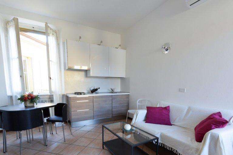 Apartamento de 1 quarto bonito para alugar em Porta Venezia, Milão