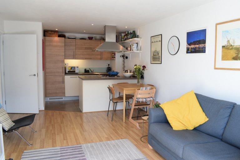 1-pokojowe mieszkanie do wynajęcia w Tower Hamlets w Londynie