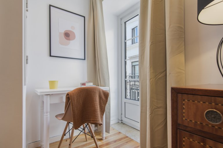 2-bedroom apartment for rent in Bairro Alto, Lisbon