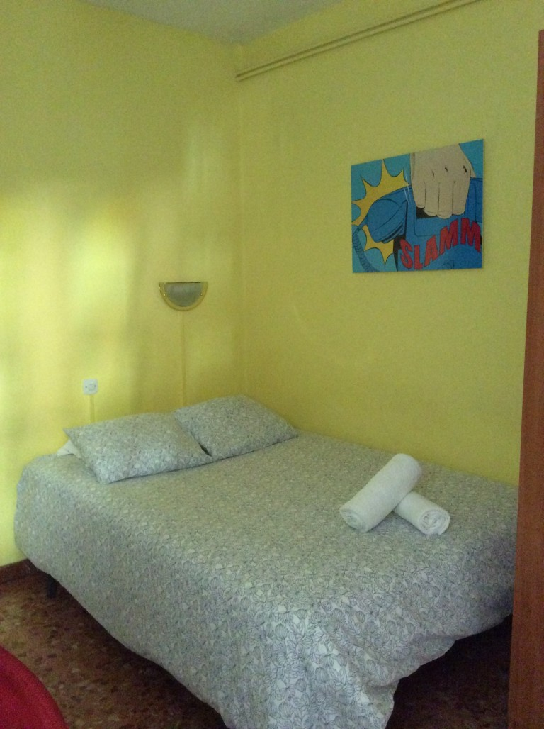 Bedroom 7 - double bed and balcony