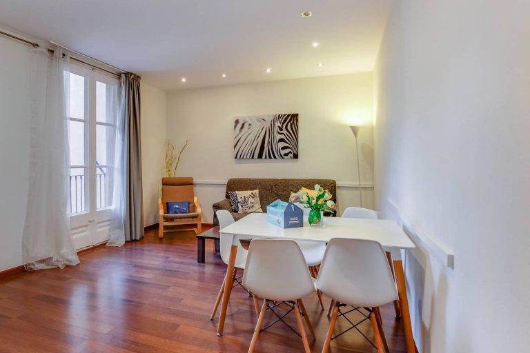 3-bedroom apartment for rent in Eixample, Barcelona
