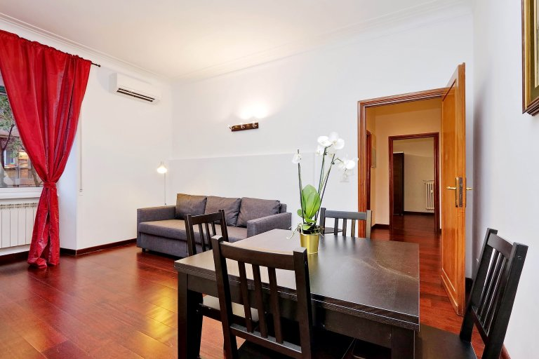 1-bedroom apartment for rent in Flaminio, Rome