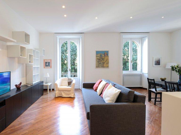 Apartamento de 1 dormitorio en alquiler en Portello, Milán