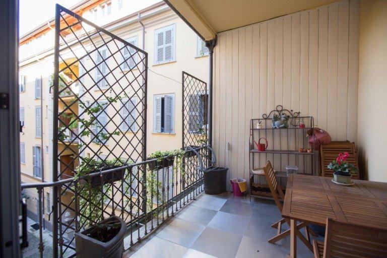 Bel appartement 2 chambres à louer à Milan