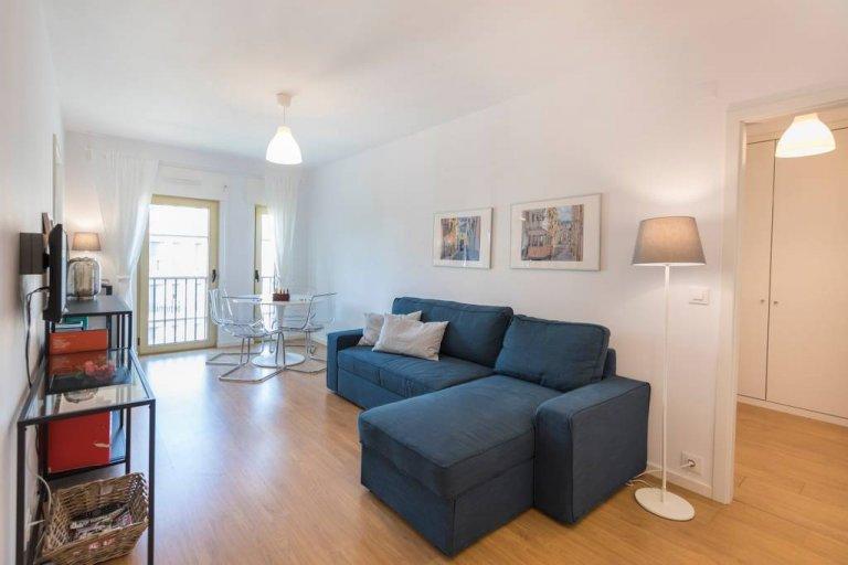 1-bedroom apartment for rent in Avenidas Novas, Lisbon