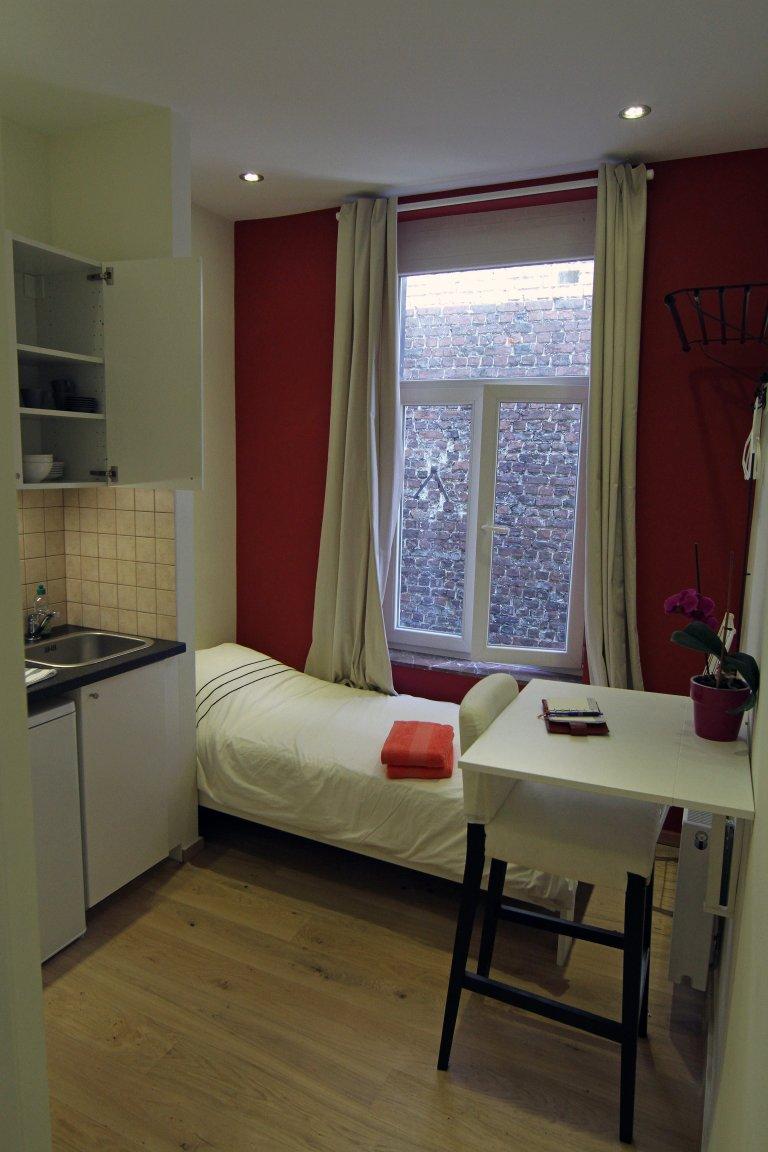 Modest studio apartment for rent in European Quart, Brussels