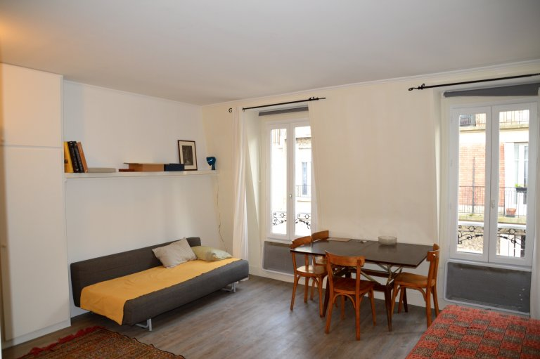 Studio for rent in 18th arrondissement, Paris