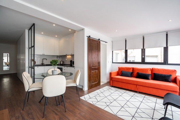 Appartamento con 2 camere da letto in affitto a Campo de Ourique, Lisbona