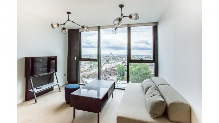 Stylish 1-bedroom apartment for rent in Archway, London