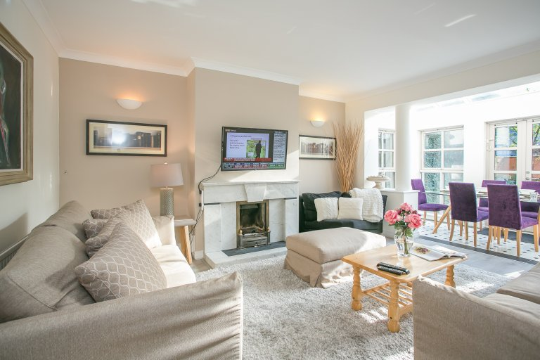 Dublin şehir merkezinde kiralık 3 yatak odalı daire