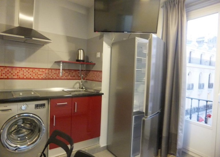 Studio apartment for rent in Centro, Madrid