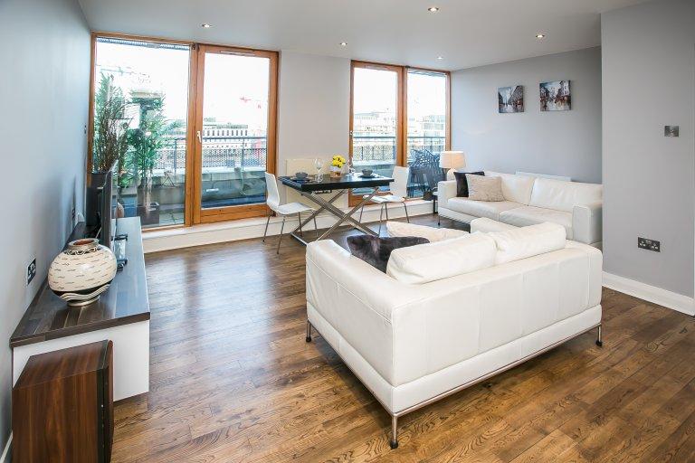 Apartamento de 2 quartos para alugar em Grand Canal Dock, Dublin