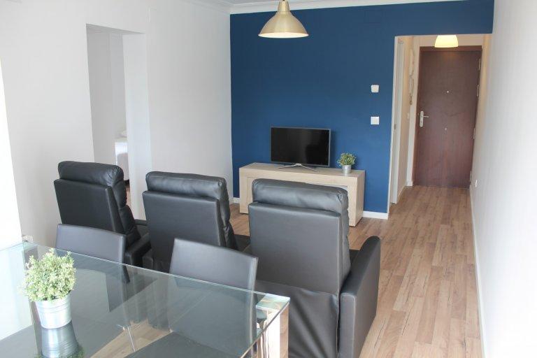 Przytulne 3-pokojowe mieszkanie do wynajęcia w Aluche w Madrycie