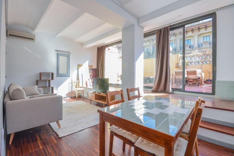 Moderne appartement 1 chambre à louer à El Born, Barcelone
