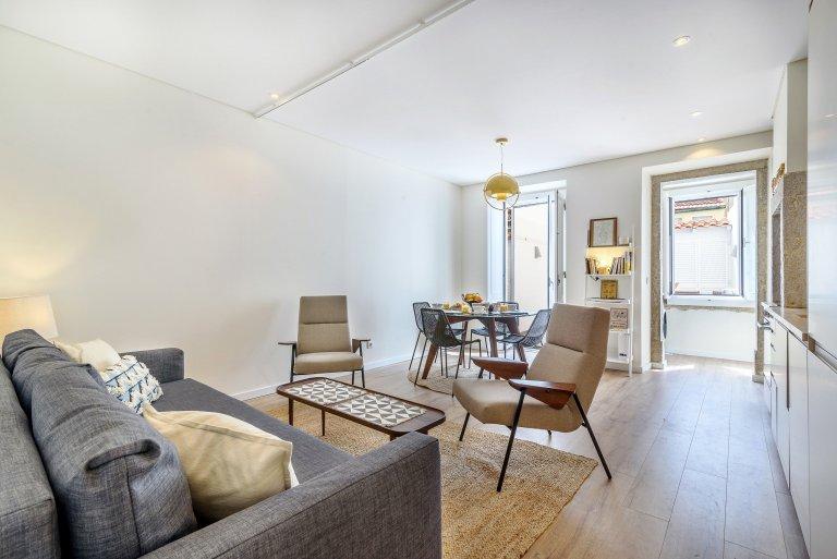 Trendy 1-bedroom apartment for rent in Bairro Alto, Lisbon