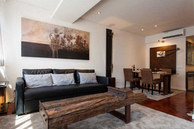 Fantastische 1-Zimmer-Wohnung zur Miete in Lapa, Lissabon