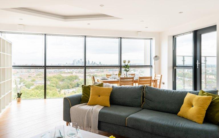 Fantastische 4-Zimmer-Wohnung in Newington, London zu vermieten