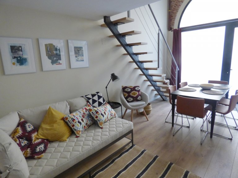 2-bedroom apartment for rent, Trafalgar, Madrid