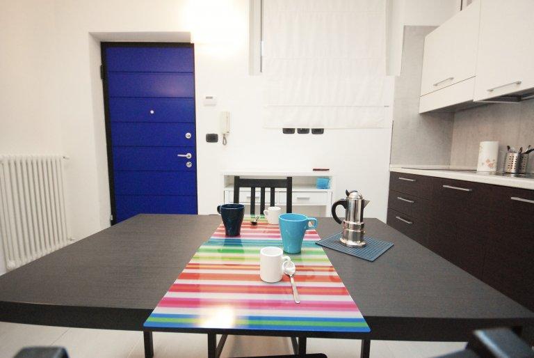Studio apartment for rent in Vanchiglia, Turin