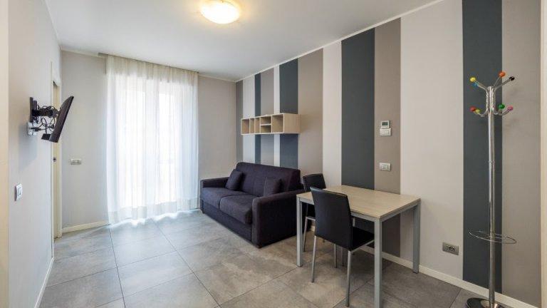 Bellissimo monolocale in affitto con AC, Dergano, Milano