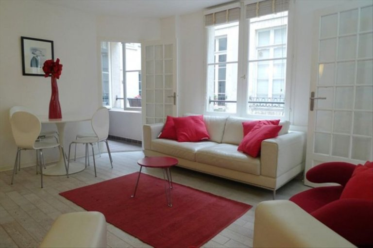 Lovely 1-bedroom apartment for rent in Paris' 3rd Arron.