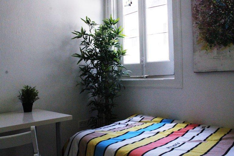 Divertido quarto duplo para alugar em Lavapiés, Madrid