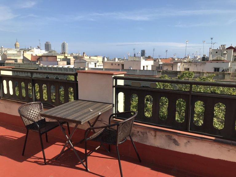 Appartement entier de 2 chambres à Barcelone