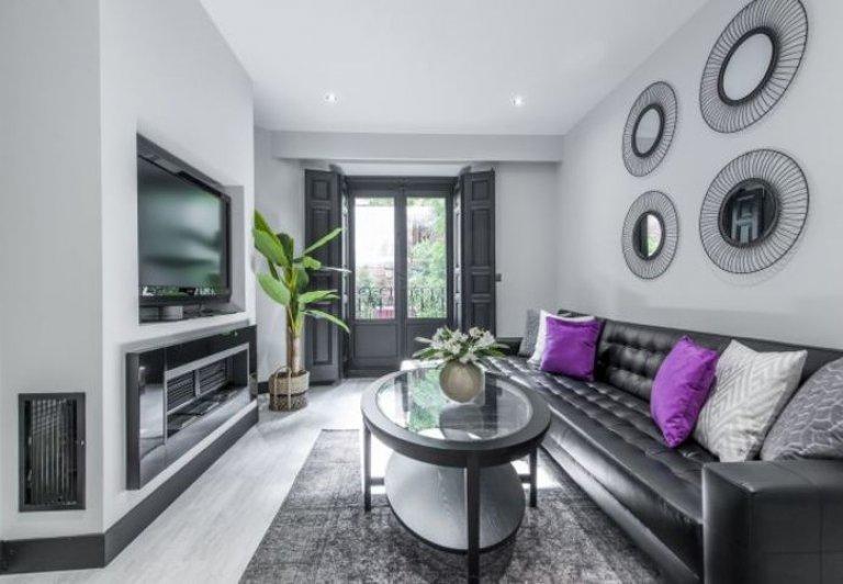 Apartamento de 2 quartos legal para alugar em La Latina, Madrid