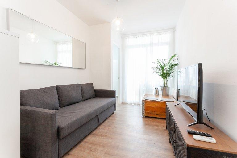 Brilhante apartamento de 3 quartos para alugar em Sant Martí, Barcelona