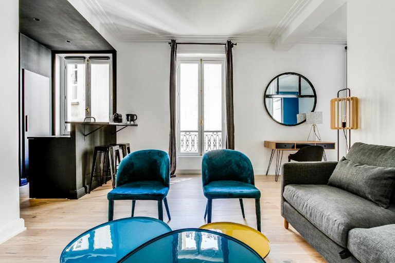 1-bedroom apartment for rent in Paris 16