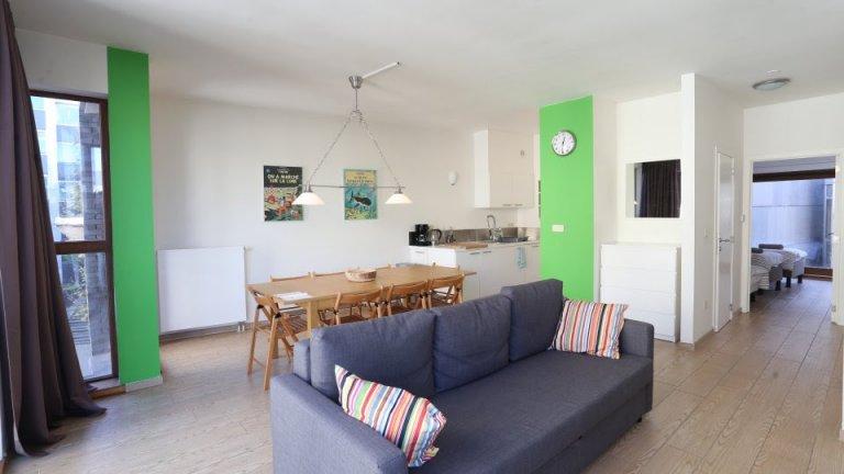 Appartement ensoleillé de 1 chambre à louer à Brussles City Centre