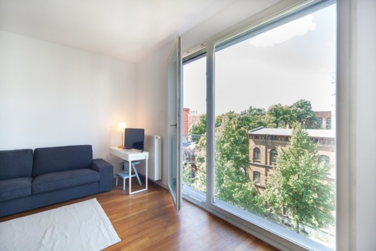 Spacious apartment with 1 bedroom for rent in Mitte, Berlin