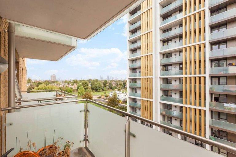 Mieszkanie z 1 sypialnią do wynajęcia w Stockwell w Lambeth, Londyn