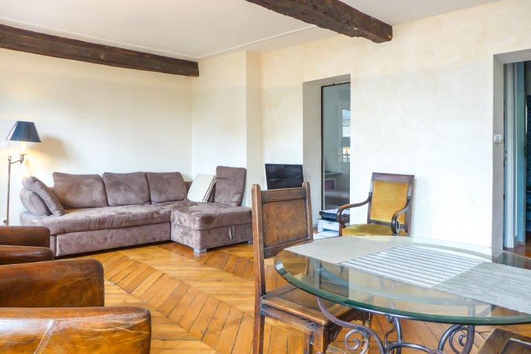 2-pokojowe mieszkanie do wynajęcia w 5 dzielnicy Paryża
