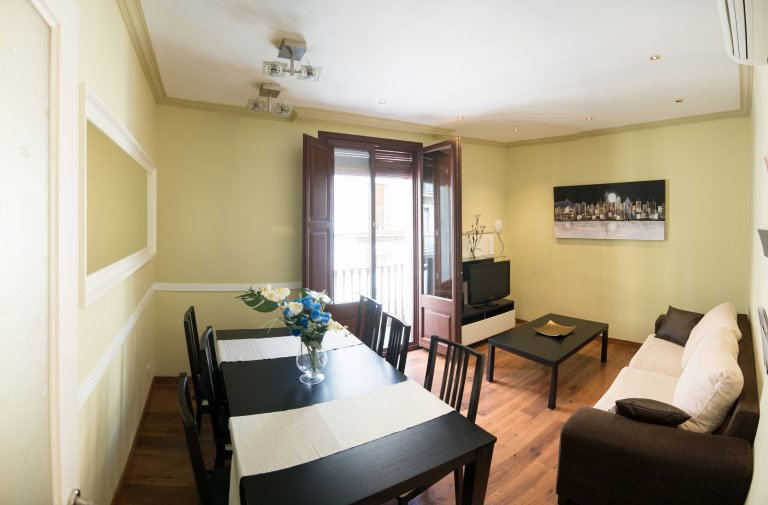 4-bedroom apartment for rent in El Raval, Barcelona