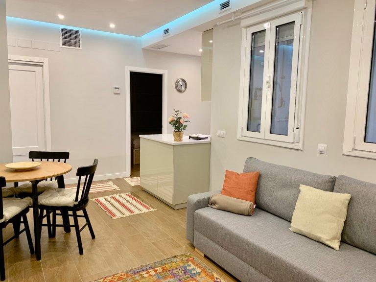 Süße 1-Zimmer-Wohnung zur Miete in Retiro, Madrid