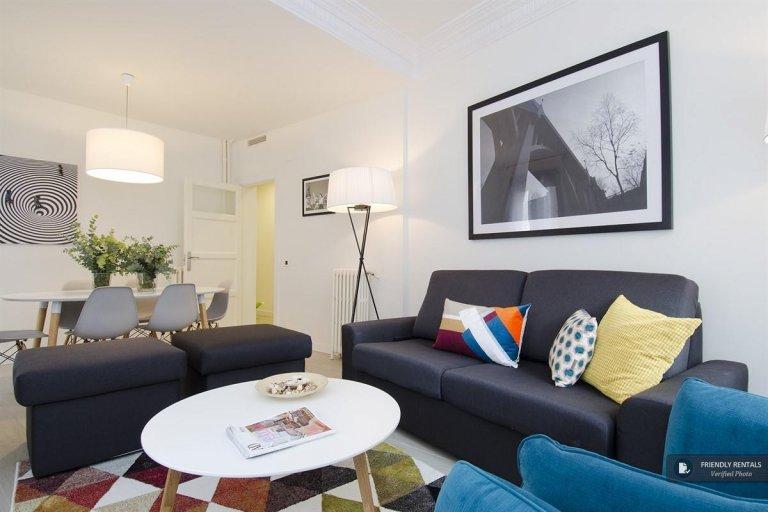 Bel appartement de 4 chambres à louer à Lavapiés, Madrid