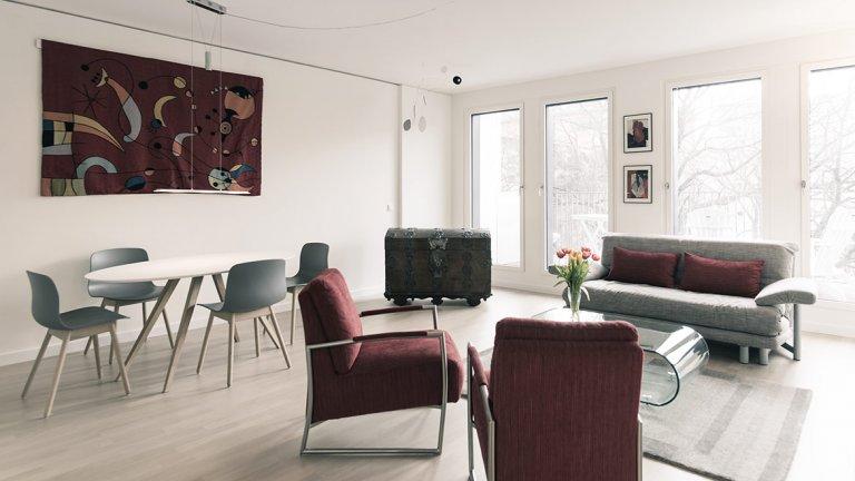 Nowoczesny apartament z 1 sypialnią do wynajęcia w Mitte, Berlin