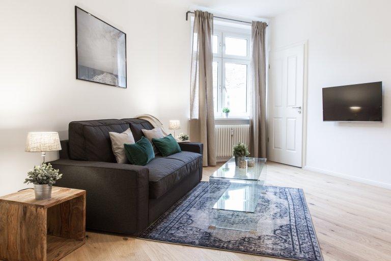 Meraviglioso appartamento con 1 camera da letto in affitto a Wedding, Berlino