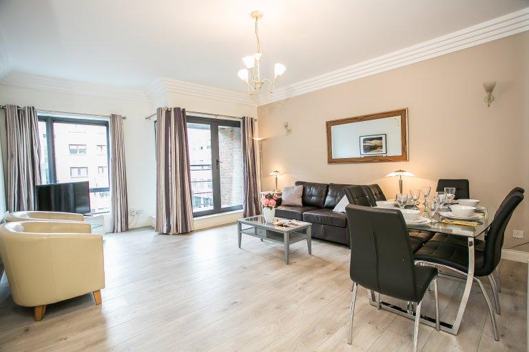 Apartamento de 3 quartos para alugar em North Inner City, Dublin