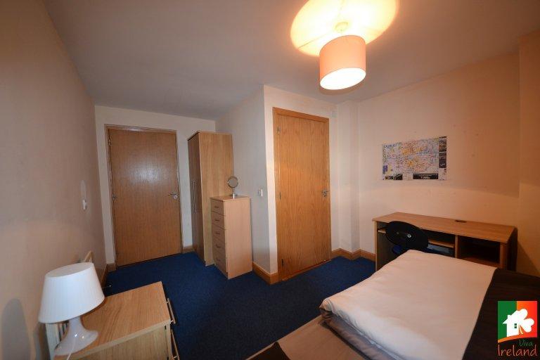 Quarto espaçoso para alugar em Smithfield, Dublin