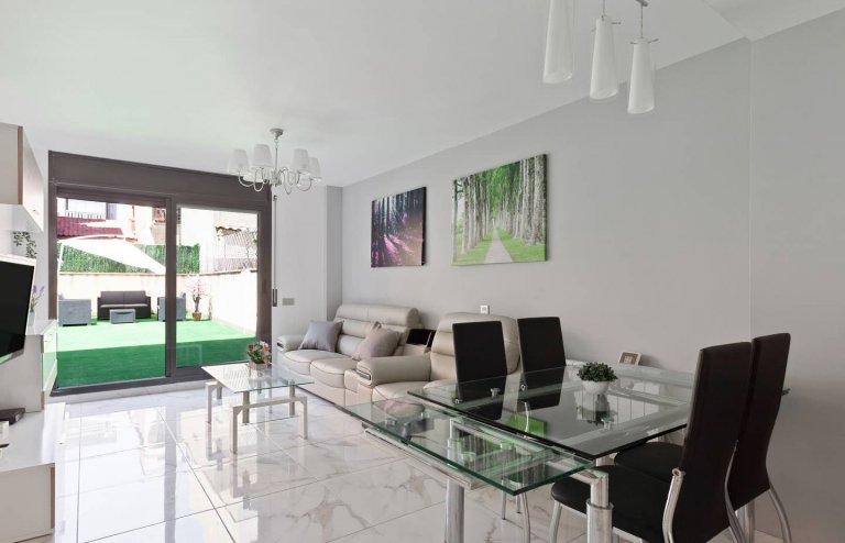 3-bedroom apartment for rent in San Adriá de Besós